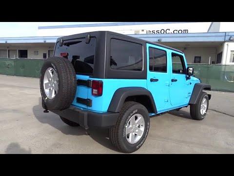 2018 Jeep Wrangler Jk Unlimited Costa Mesa, Huntington