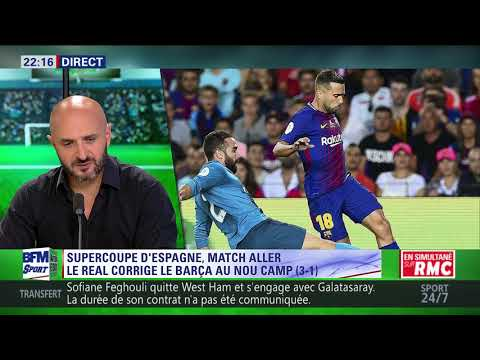 After Foot du lundi - 14/08 – Partie 4/6 - Le Real Madrid co