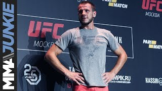 UFC Moscow: Nikita Krylov open workout Q&A with Dan Hardy