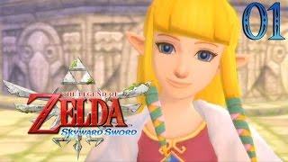 Zelda Skyward Sword #01 : LA PRÊTRESSE