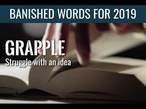 A.J. - The Annual List Of Banished Words From The Queen's English For 2019