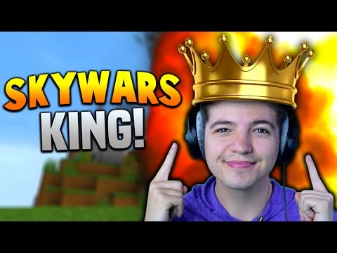 THE KING OF SKYWARS!! | Minecraft TEAM SKYWARS #28