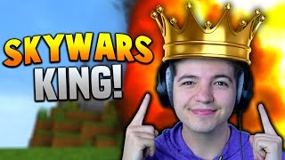 THE KING OF SKYWARS!! | Minecraft TEAM SKYWARS #28