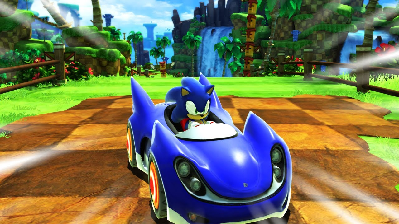 This isn't Sonic & All Stars Racing Transformed