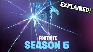 ★ NEW Fortnite Season 5 2nd TEASER EXPLAINED - Fortnite Season 5 BATTLE PASS ITEMS + SEASON 5 STORY