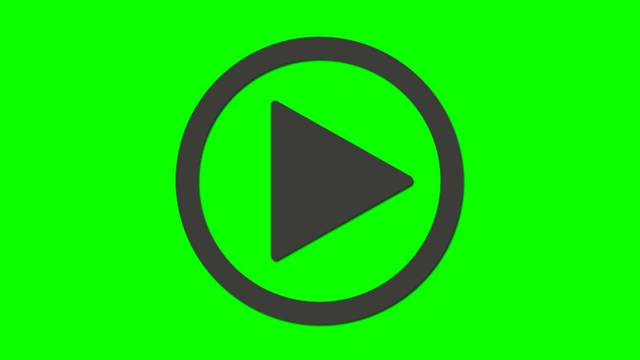⏸⏯▶ Play/Pause Screen green background | Play/Pause fond Vert