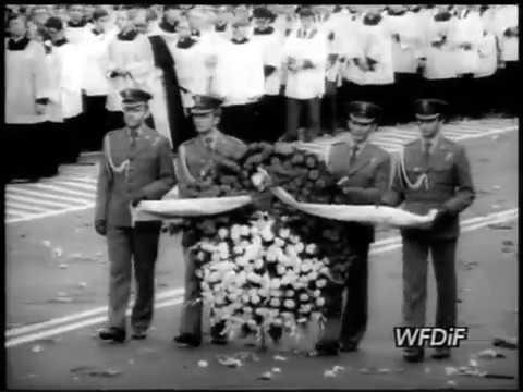 31.05.1981 Pogrzeb Prymasa kardynała Stefana Wyszyńskiego