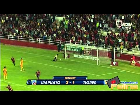 Irapuato vs Tigres 2-1 Jornada 4 Apertura 2014 Copa MX HD - RESUMEN GOLES
