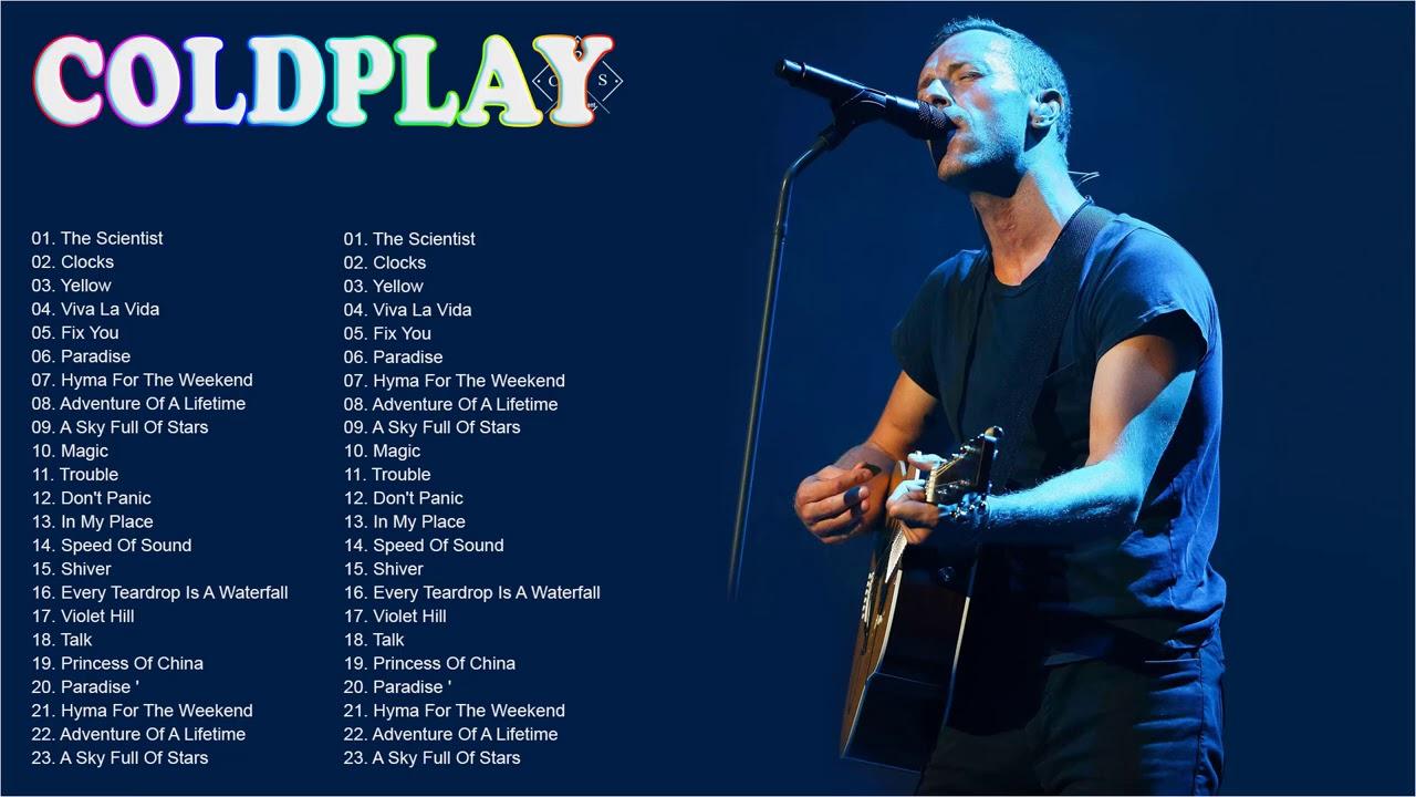 Coldplay Songs   Coldplay Greatest Hits Playlist Álbum completo Melhores músicas do Coldpla
