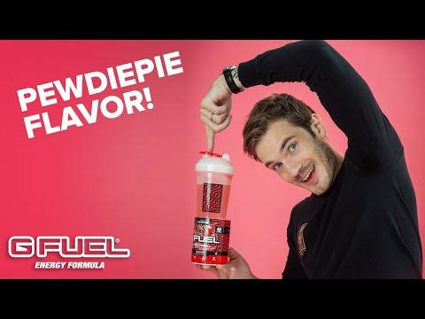 Pewdiepie G Fuel Flavor!