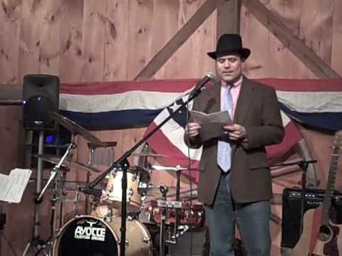 Tamworth Inaugural Ball Keynote Speech, part 1