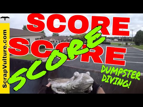 SCORE SCORE SCORE!!! I didn't know what else to name this Dumpster Diving 4 Treasure & Metal Video