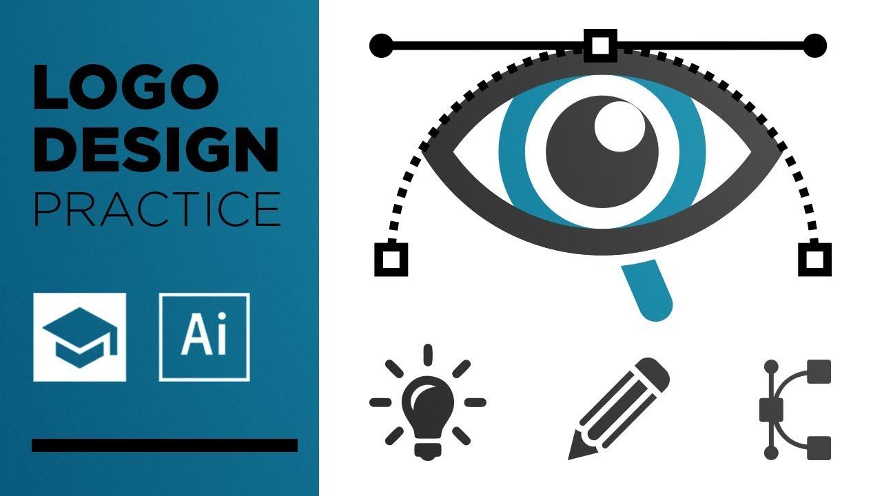 logo design practice random words logo design 2 youtube