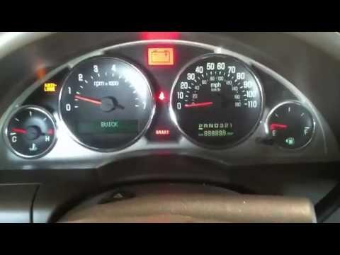 Buick Rendezvous Fix Trac Off Abs Warning Light Dtc Sen