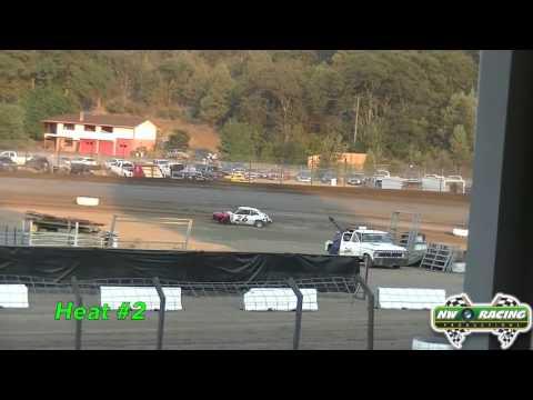 8 14 2015 Siskiyou Motor Speedway Mini Stocks