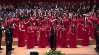 Jugendchor Bogazici Jazz Choir/Türkei: Kara Üzüm Salkimi, EJCF Basel 2016