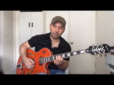 Navigating 1-6-2-5 Blues Turnarounds - Lesson