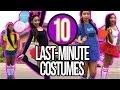 DIY LAST-MINUTE HALLOWEEN COSTUMES FOR TEENS 2016!