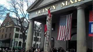 The Red Trouser Show at Faneuil Hall, Boston