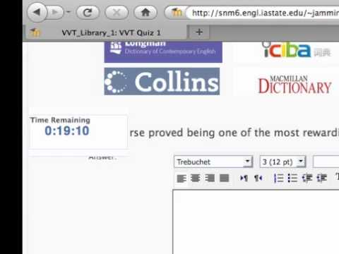 The Online Strategy Instruction Of Integrated Dictionary Skills And