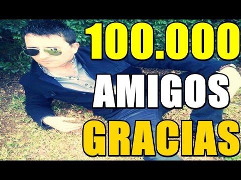 MI REACCIÓN AL LLEGAR A 100K | Especial 100.000  | GRACIAS |