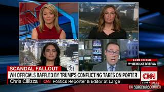 CNN panelist rips into Trump over the abuse claims within his cabinet