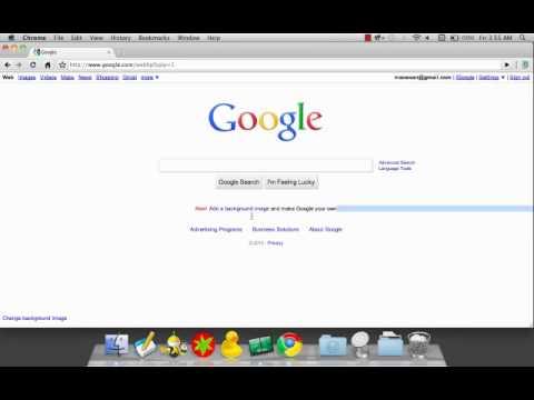 google homepage background image youtube