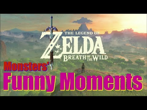 MONSTERS' FUNNY MOMENTS | The Legend of Zelda: Breath of the Wild