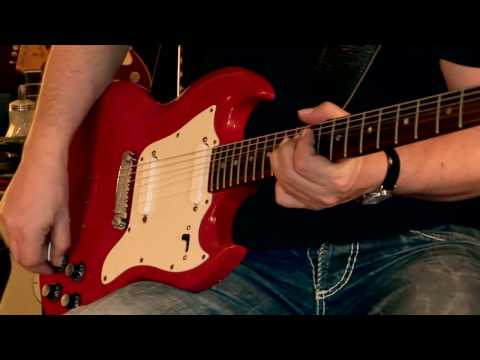 1967 Gibson SG Melody Maker - Cardinal Red, Part1