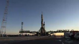 Sojus-Rakete startet erfolgreich zur ISS
