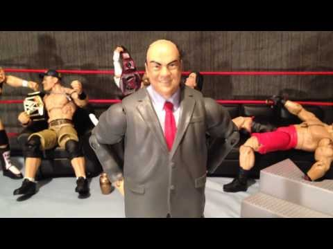 WWE Elite Best of PPV Paul Heyman BAF Wave Review and Animation