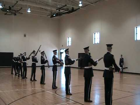 Escadrille Armed Exhibition Drill Team