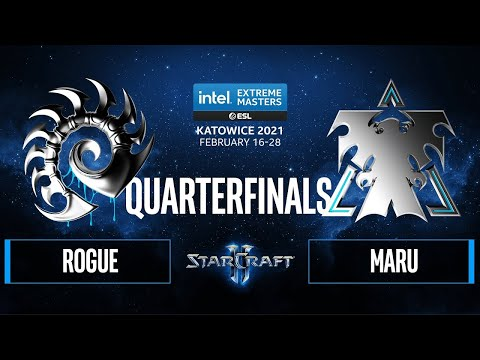 SC2 - Rogue vs. Maru - IEM Katowice 2021 - Quarterfinals