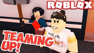 TEAMING UP WITH THE BEAST (Roblox Flee The Facility)