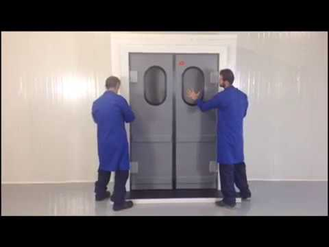 Polidoor |  Flip Flap Installation