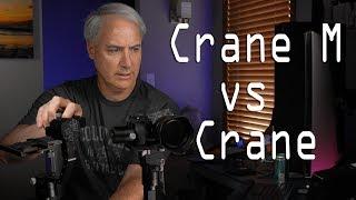 Zhiyun Crane vs Crane M