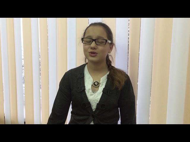 Изображение предпросмотра прочтения – ДианаКузьмина читает произведение «Девушка пела в церковном хоре» А.А.Блока