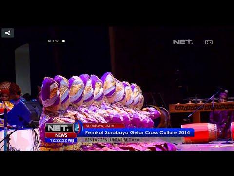 Pemkot Surabaya gelar Cross Culture 2014 - NET12