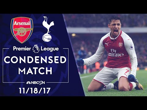 Premier League Classics: Arsenal V. Tottenham   CONDENSED MATCH   11/18/17   NBC SPORTS