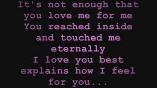 Gambar cover Because of You - Keith Martin [w/ Lyrics]