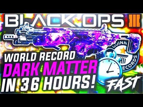 EARN DARK MATTER IN 36 HOURS! - BLACK OPS 3 DARK MATTER CAMO FAST! (BO3 DARK MATTER)