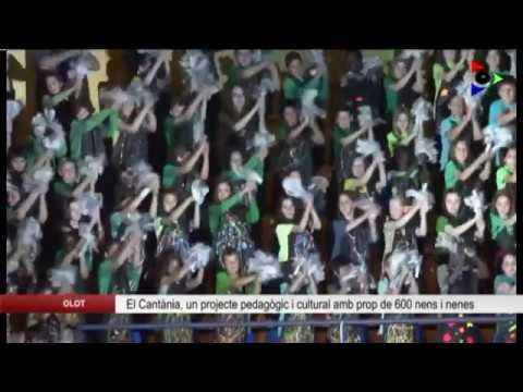 Olot, ciutat educadora: CANTÀNIA