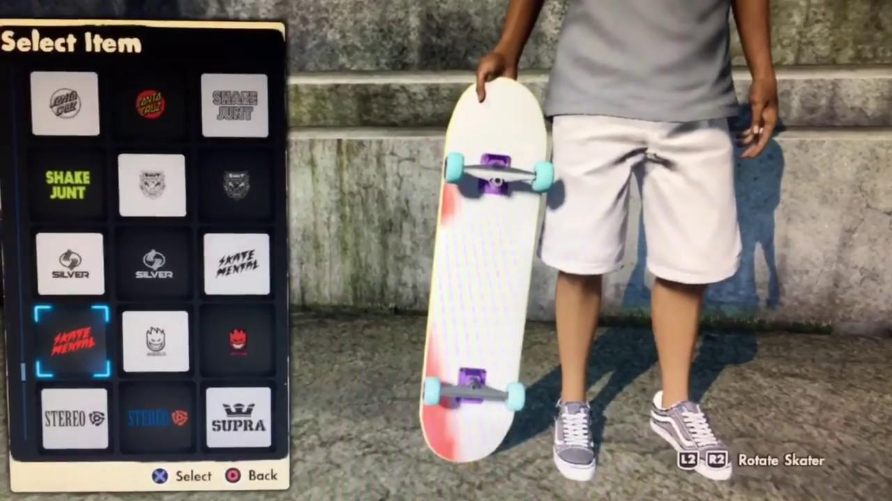HOW TO GET COLORED REALISTIC GRIP TAPE I SKATE 3 NO BLACK BOX