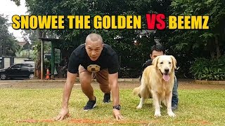 SNOWEE THE GOLDEN VS BEEMZ ARYO | 33 METER SPRINT !