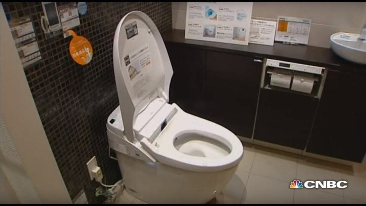 Meet Japan\'s high-tech toilets | First Class - YouTube