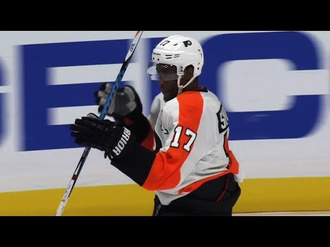 Simmonds' OT goal gives Flyers rare win in Anaheim