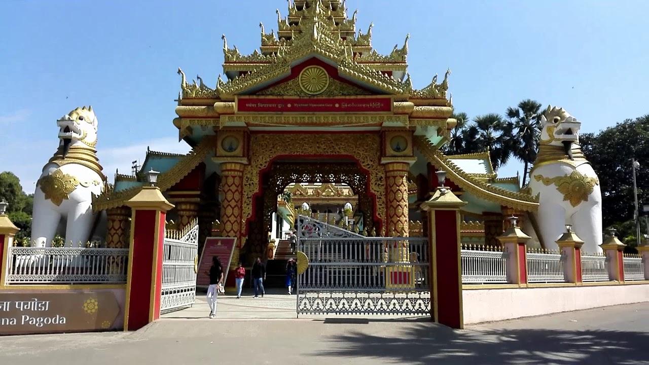 Mumbai. Global Vipassana Pagoda