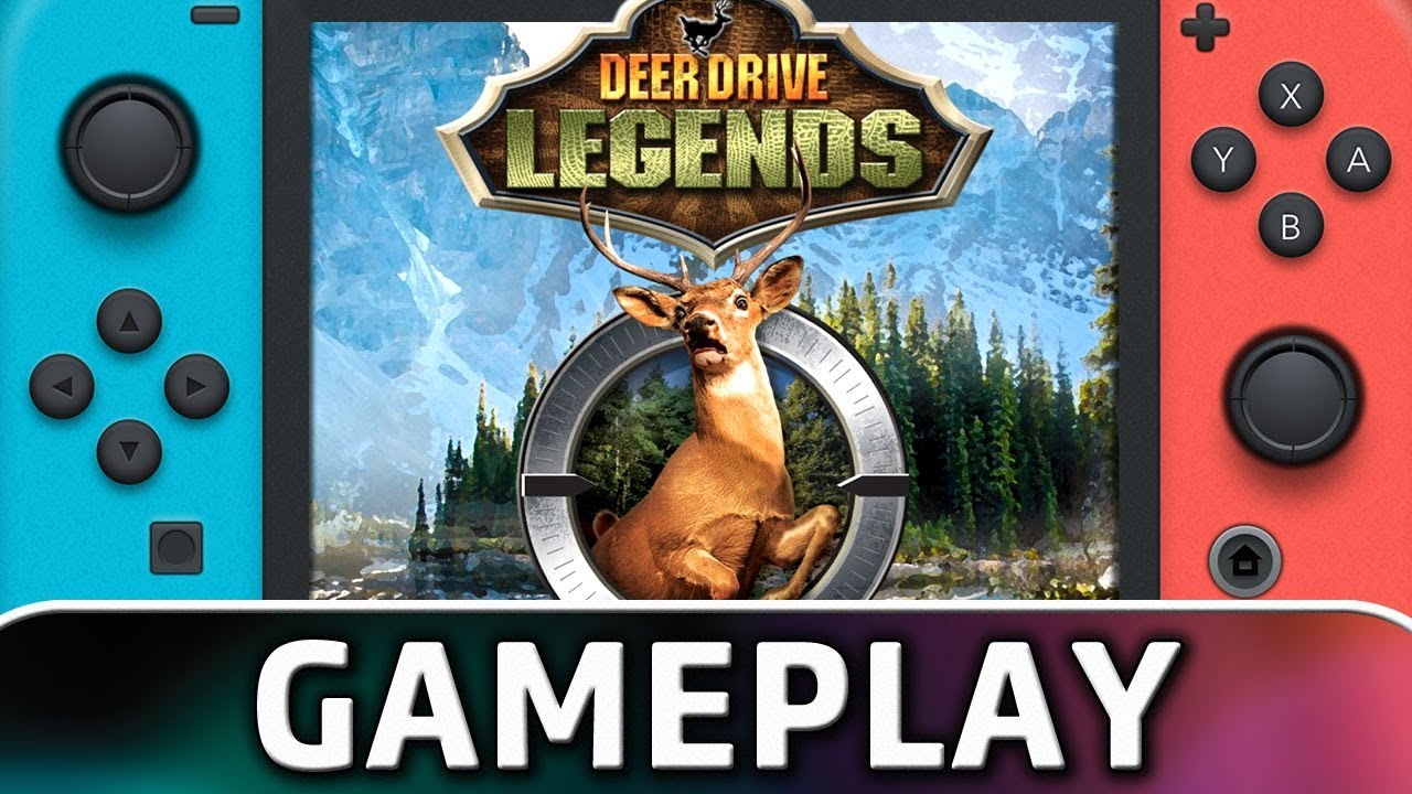 Deer Drive Legends | First 10 Minutes on Nintendo Switch