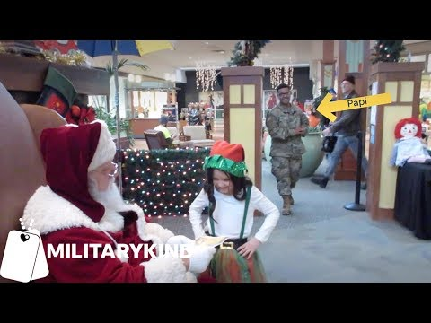 Chris Davis - Soldier's Daughter's Heartfelt Christmas Wish Comes True!