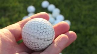 The Best Way t๐ Clean Recovered Golf Balls